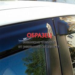 Дефлекторы окон Novline-Autofamily Toyota Highlander 2010-2013 - фото 11